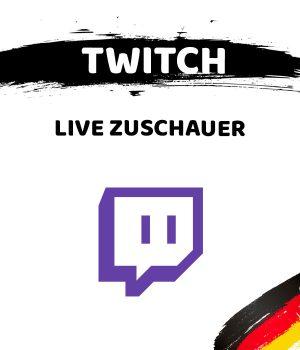Schaltfläche zum Kauf von Twitch Live Zuschauern