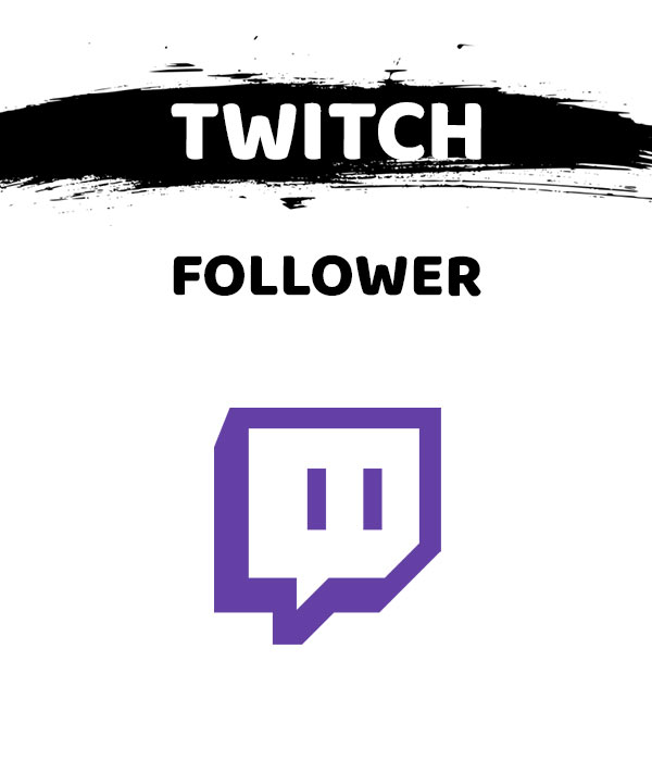 Schaltfläche zum Kauf von Twitch Follower